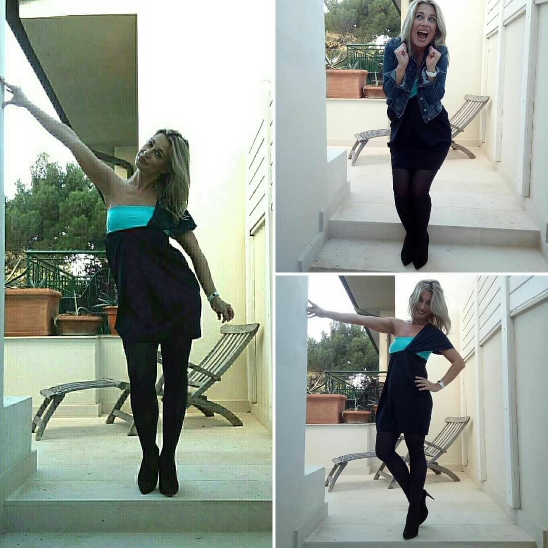 Stefania Buscaglia backstage #gustoitaliano