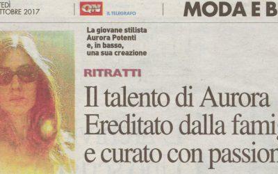 Il talento di Aurora Potenti su QN Quotidiano Nazionale